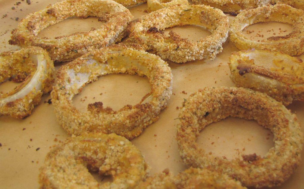 Oil Free Crispy Crunchy Onion Rings