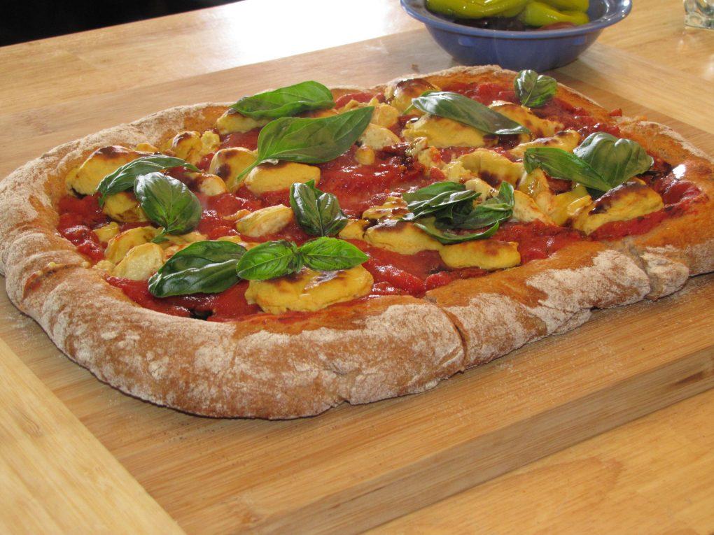 Vegan Plant Based Pizza