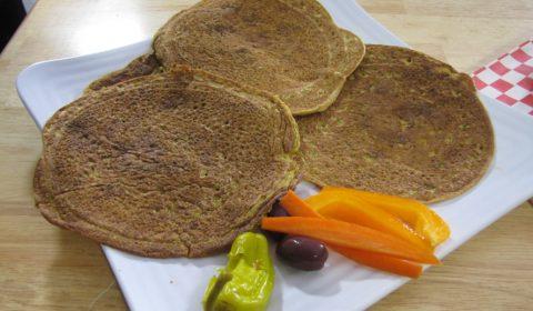 Vegan Lentil Roti Flatbread